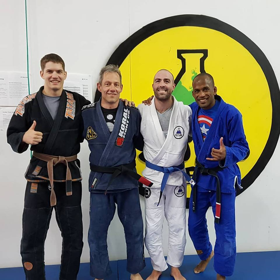 Julio blue belt